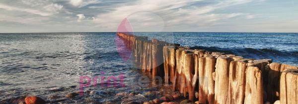 Buhnen in der Ostsee