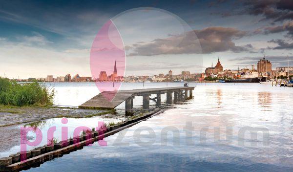 Rostock - Über den Steg geschaut